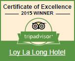 Trip Advisor 2015 Awards