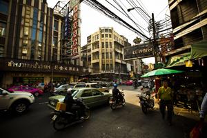 Sampheng Cloth Market
